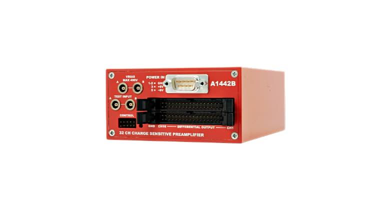 Analogique - preamplificateur Multistrip pour detecteur Silicon